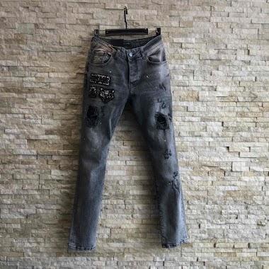 KENZARRO jeans skinny AUBERVILLIERS FASHION