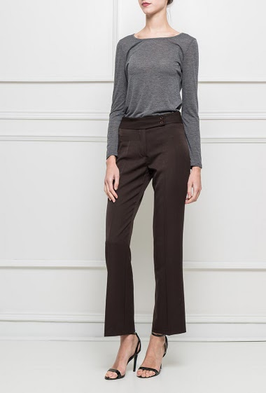 Chic trousers, flared fit T1=36,T2=38,T3=40,T4=42,T5=44,T6=46,T7=48,T8=50