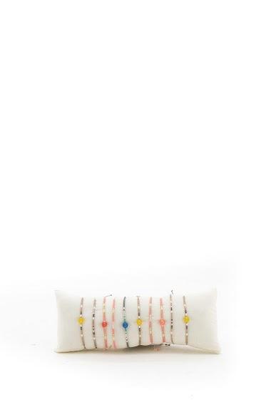 Bracelet perle de rocaille par 10pcs