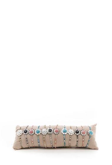 Bracelet pearl enamelled by 12pcs