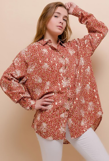 LOVIE LOOK printed shirt CIFA FASHION