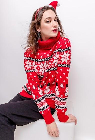 LUCKY 2 christmas sweater CIFA FASHION