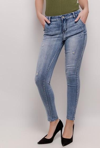 LUIZACCO enge jeans getragen CIFA FASHION