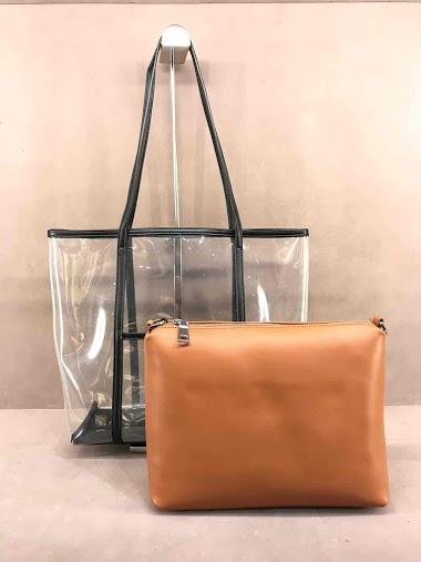 Transparent double bag
