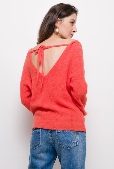 Knitted sweater,The model measures 178cm, one size corresponds to 10/12(UK) 38/40(FR). Length:60cm