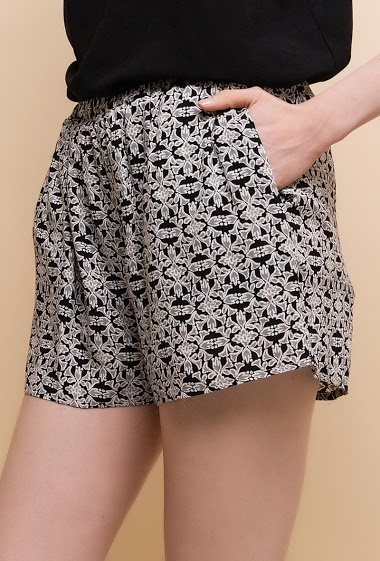 Printed shorts.The model measures 177cm and wears S