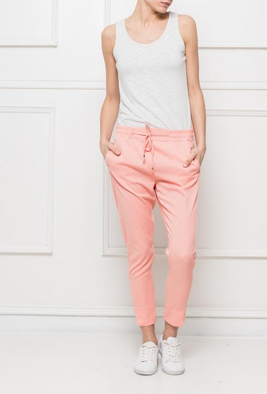 Trousers with elastic waist - S = T38