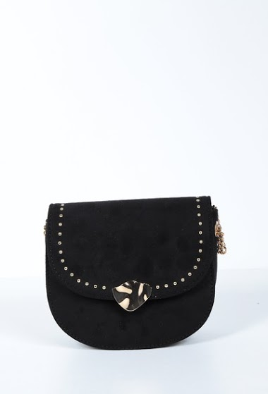 MOGANO small suede bag to be worn over the shoulder CIFA FASHION