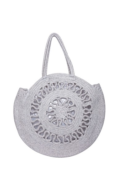 MOGANO openwork bag metallic thread CIFA FASHION