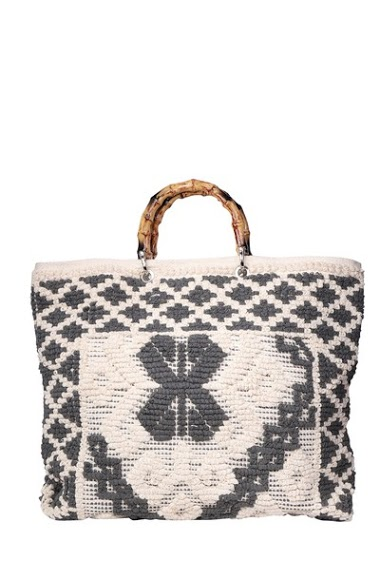 MOGANO cotton thread jacquard bag CIFA FASHION