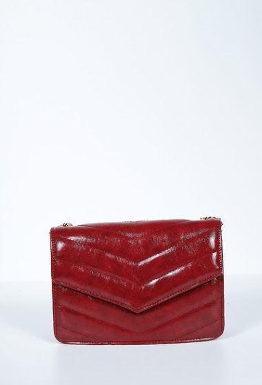 quilted bag, to be worn over the shoulder or over the shoulder, dimensions 22*7*17cm