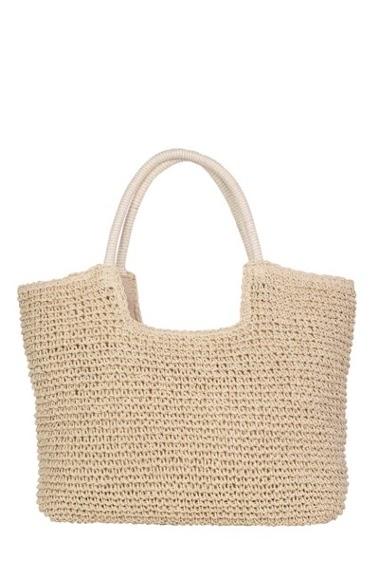 MOGANO raffia bag CIFA FASHION