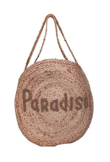 MOGANO paradiso di iscrizione della borsa di tela da imballaggio CIFA FASHION