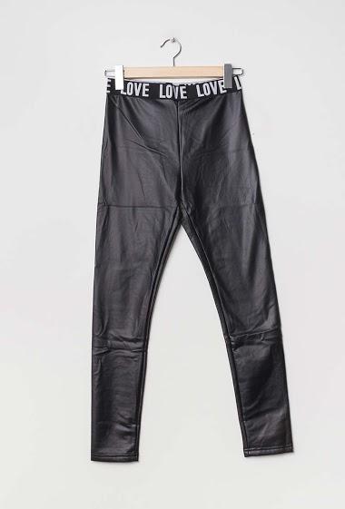 Fake leather leggings LOVE