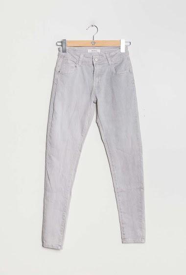 MONDAY PREMIUM grundlæggende tynde bukser CIFA FASHION