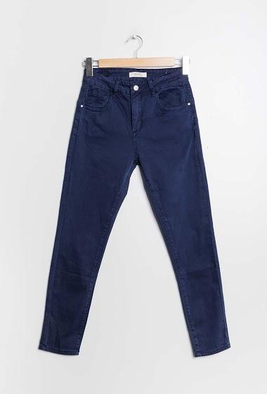 Skinny cotton pants