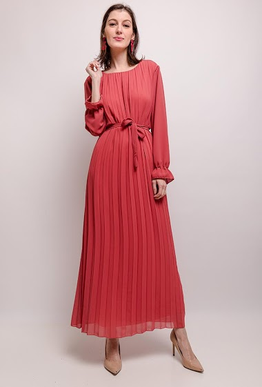 MY STYLE long pleated dress CIFA FASHION
