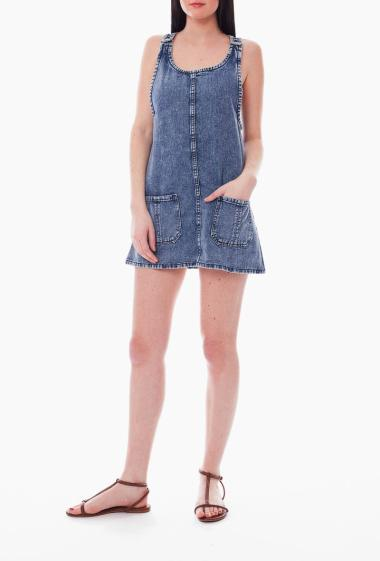 Trapeze Dress jeans with pockets