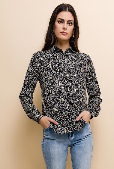NOÉMIE & CO patterned shirt CIFA FASHION