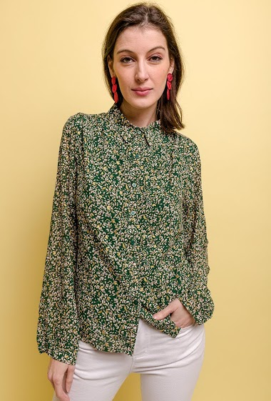NOÉMIE & CO printed shirt CIFA FASHION
