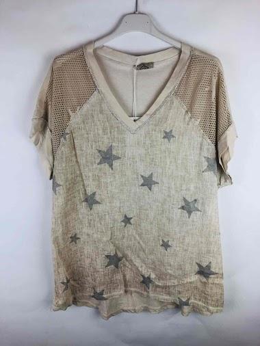 T-shirt Lin star vintage