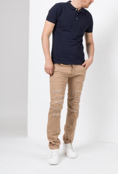 Pantalon slim déchiré -US Marshall
