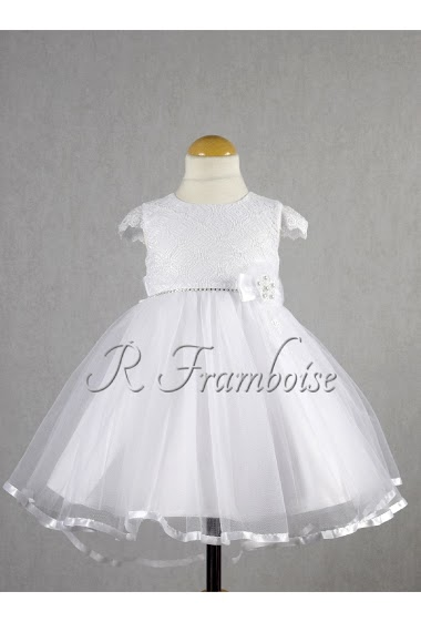 Robe Bapteme Bebe Avec Petites Manches R Framboise Paris Fashion Shops