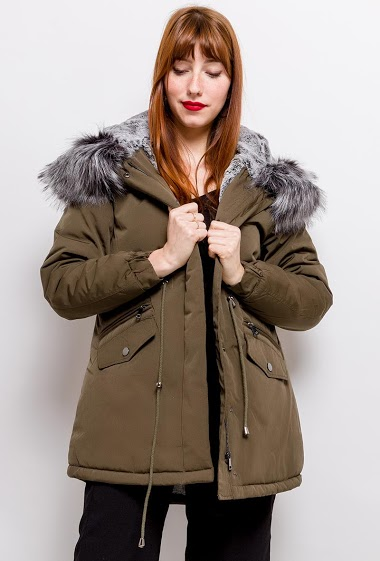 REDIAL filled parka FASHION CENTER