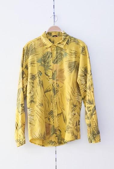 Shirt in linen