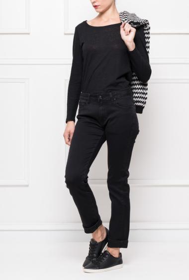 Pantalon à coupe classique avec poches
