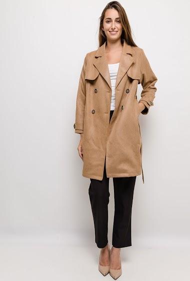 SOPHYLINE elegant trench coat CIFA FASHION