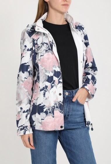 Flower Print Jacket