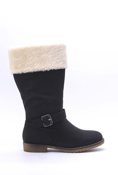 SUREDELLE fur boots FASHION CENTER