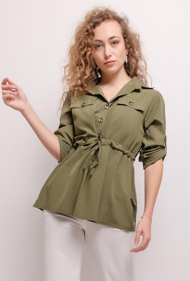 Adjusted blouse