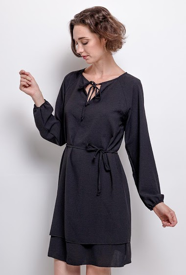 casual dress,La mannequin mesure 177cm