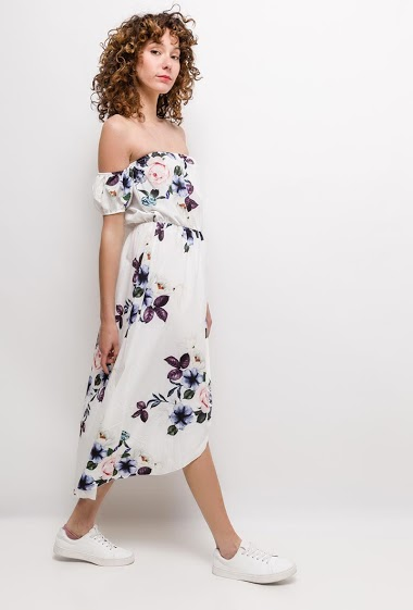 WILLY Z flowery dress CIFA FASHION