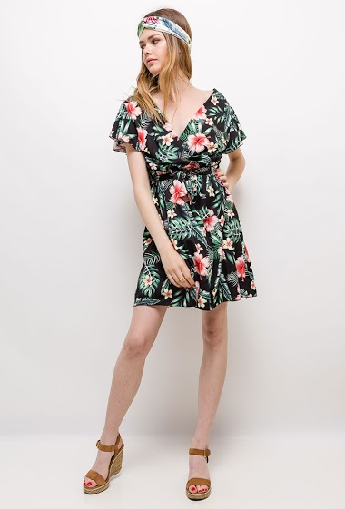 d063cc40d Tropical maxi dress. WILLY Z