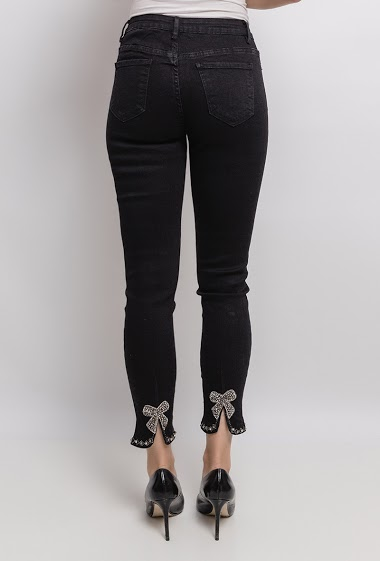 Pants with fancy ankles