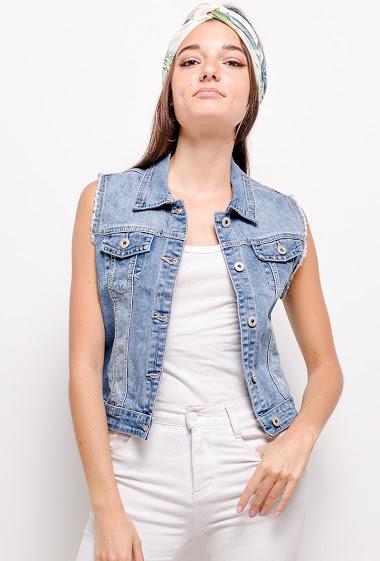 ZAC & ZOÉ sleeveless jacket CIFA FASHION