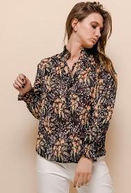 101 IDÉES blusa floral