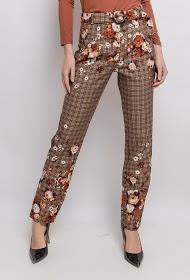 101 IDÉES check trousers