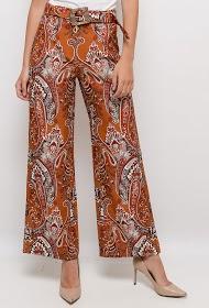 101 IDÉES pantalon large imprimé