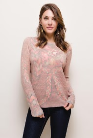 101 IDÉES trykt sweater