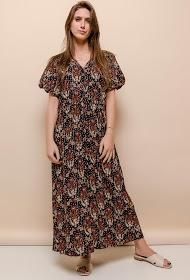 101 IDÉES vestido camisero estampado