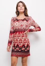 101 IDÉES trykt kjole