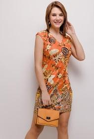 101 IDÉES printed dress