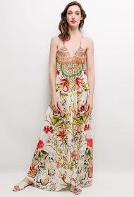 101 IDÉES robe longue fleurie