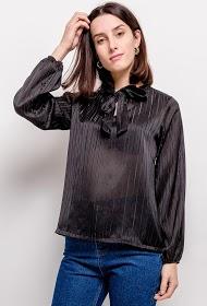 ADILYNN lavaliere blouse