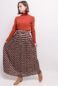 ADILYNN long pleated skirt