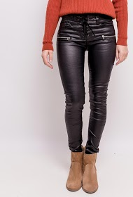 ADILYNN leatherette trousers